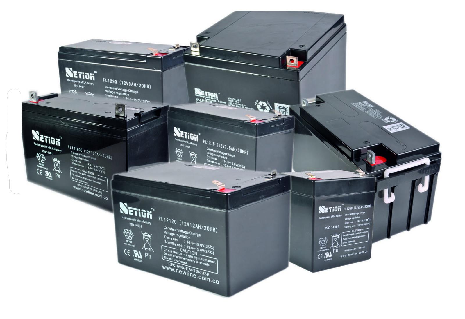Distribucion Baterias Para Ups Secas Estacionarias Agm Gel