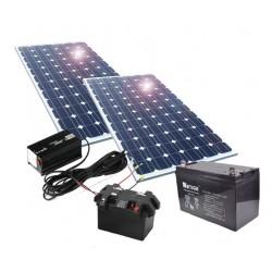 Kit de energía solar 200W