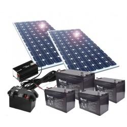 Kit de energía solar 500W