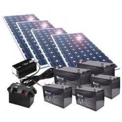 Kit de energía solar 600W