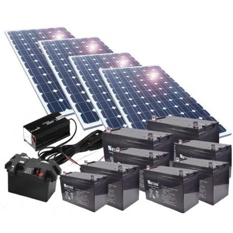 Kit de energía solar 750W