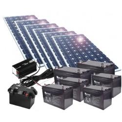 Kit de energía solar 1500W