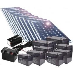 Kit de energía solar 2500W