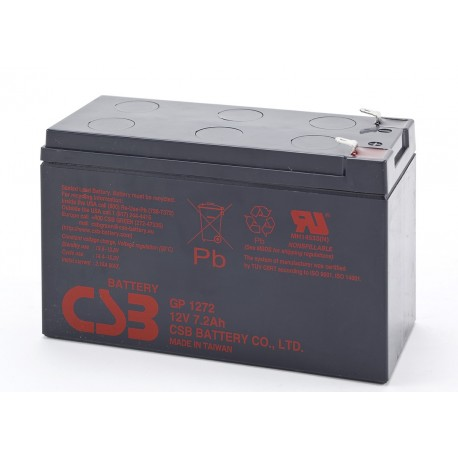 Baterias csb GP 1272F2 battery 12v 7,2ah