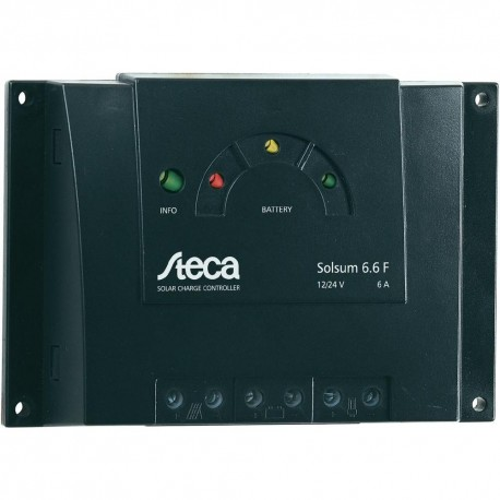 Regulador solar steca solsum 6.6 6ah