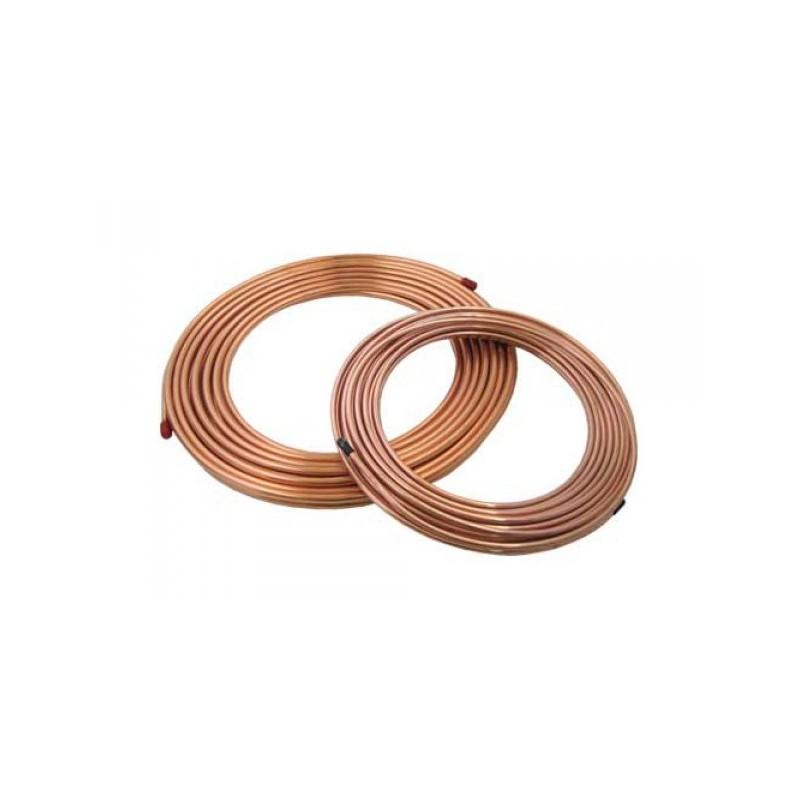 Tuberia cobre flexible 1 2 rollo 15m amvar world - Precio tuberia cobre ...