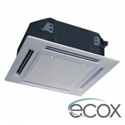 Unidad tipo casette 36000 btu inverter, SEER 16 ECOX 220V Aire acondicionado