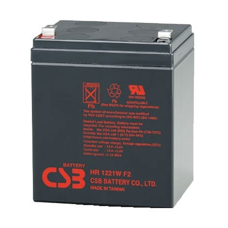 Baterias csb HR 1221 WF2 battery 12v 5ah