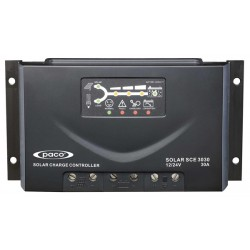 Controlador de carga 24/48V - 30A y proteccion IP32