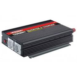 Inversores de corriente 1200W - 10.43AH Marca PACO (RETIE) con cargador de bateria