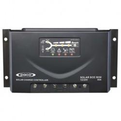 Controlador de carga 24/48V - 30A y proteccion IP22