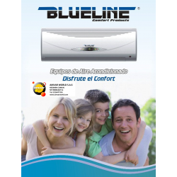 Minisplit BLUELINE EYK-36 36.000Btu/Hr (1/220v) R-22