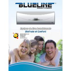 Minisplit BLUELINE MSI-12 12.000Btu/Hr (1/220v) INVERTER R-410a